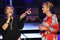 Helena Vondráčková a Olga Matušková dojaly Chrudim