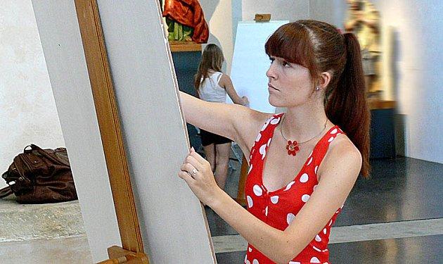 Nejtěžší je začít, probíhá umělci hlavou, když hledí na prázdné plátno. Pak už to půjde samo.