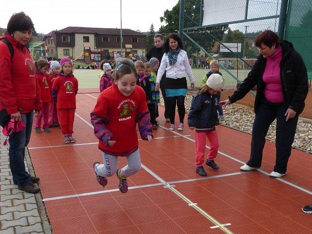 Mateřská škola Stolany zvítězila ve sportovních hrách mateřských škol