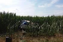 Nehoda při Rallye Železné hory
