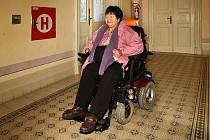 Výtah v budově chrudimského Muzea má unadnit život především vozíčkářům.
