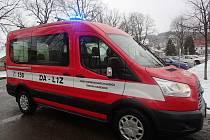 Dobrovolní hasiči v Trhové Kamenici získali nové auto