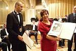 Dagmar Pecková zavítala 8. února 2010 do Chrudimi, kde po svém koncertu převzala Čestné občanství města.