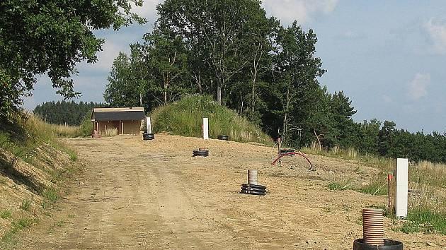 Pozemky jsou plně připraveny ke stavbě.