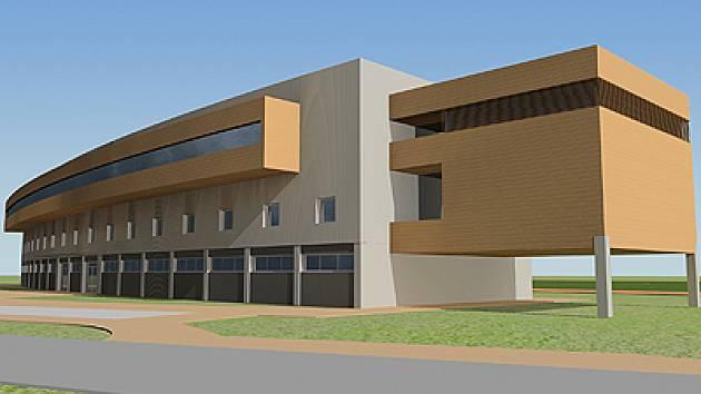 Studie Rohlíku představuje moderní architektonické řešení rekonstrukce tribuny AFK