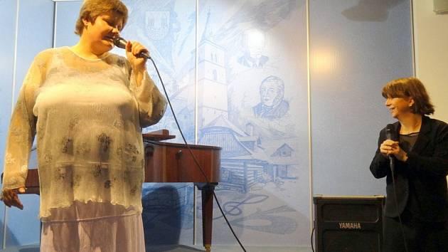 V Městském muzeu ve Skutči se uskutečnil koncert místní mezzosopranistky Moniky Maškové Kyselové