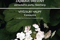 Titulní strana nové brožury o floře ve slatiňanském zámeckém parku.