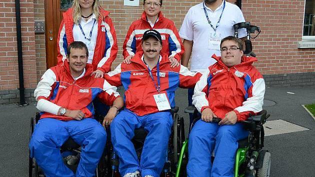 Paralympici z Luže Košumberka získali bronz na Světovém poháru v severoirském Belfastu