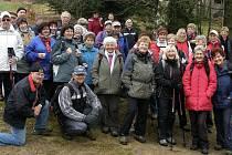 Chrudimští turisté na Poličsku.