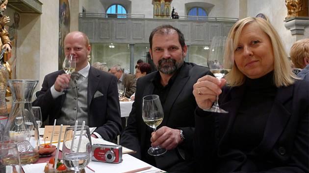 Muzeum barokních soch v Chrudimi zahájilo novou sezonu ochutnávkou vína.