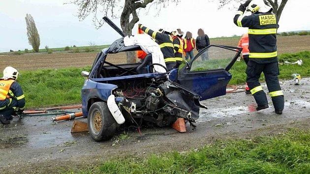 Nehoda se stala vrámci rallye.