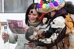 Hamry na Hlinecku prošel v sobotu 12. února 2011 tradiční masopustní průvod.