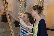 Letní ateliér v Muzeu barokních soch.