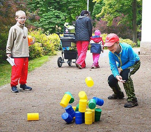 Den s Jitřenkou přivábil do parku spoustu dětí