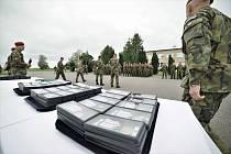 Příslušníci 13. strážní roty BAF převzali medaile Za službu v zahraničí