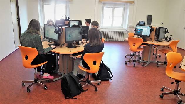 Jazyková laboratoř v plném provozu