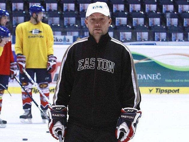 Jiří Fibiger, trenér HC Chrudim.