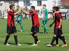 V premiéře nového ročníku ČFL porazili fotbalisté MFK Chrudim na domácí půdě Meteor Praha 4:0.