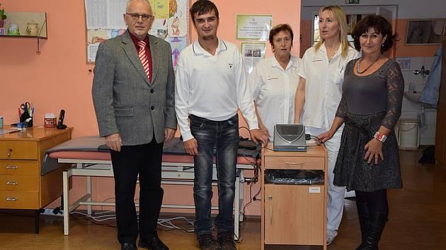 Hana Hromádková pomohla Hamzově léčebně