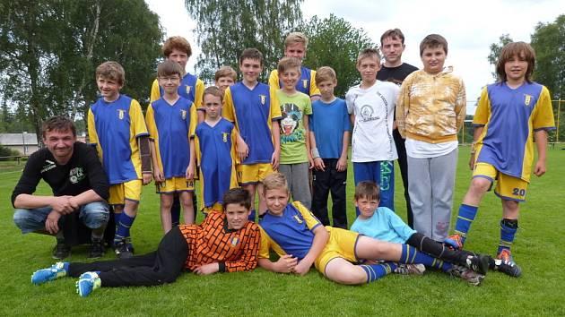 Turnaj žáků ve Svratouchu vyhráli Pražáci.