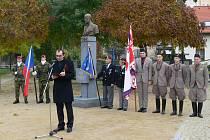 Slavnostní setkání u příležitosti 97. výročí vzniku samostatného Československa v chrudimském Parku Republiky.