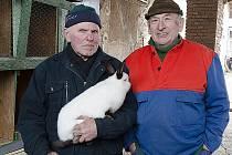 Tržnice pod širým nebem v Rosicích u Chrasti přivítala první letošní chovatele i návštěvníky.