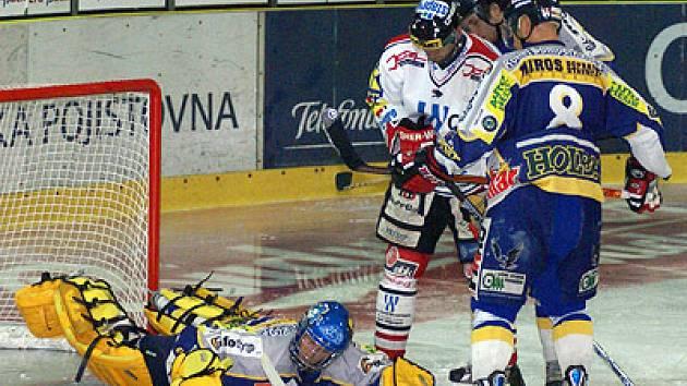 Hokejisté HC Chrudim zakončili přípravu vítězstvím 5:3 nad Šumperkem.