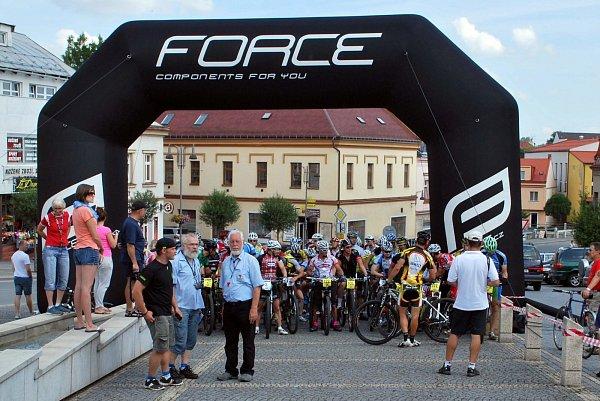 Cyklistický závod Hlinecký hřebec 2014.