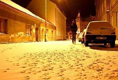Jaro zatím v Hlinsku nic nepřipomíná, ulicemi projíždějí sněžné pluhy.