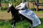 Barokní jízda v kostýmech.