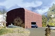 Návrh pro badatelnu a archiv Regionálního muzea v Chrudimi.