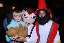 Rumcajs, Hurvínek, Mánička a další pohádkové postavy vzbudily nadšení u dětí i dospělých.