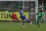 Z utkání krajského přeboru ve fotbale FC Hlinsko - Agria Choceň 4:0 (1:0)