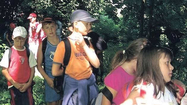 Děti si pobyt v příměstském táboře užily.