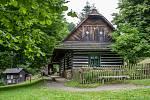 Ve skanzenu Veselý Kopec veVysočině na Chrudimsku otevřeli 3. července 2021 pro návštěvníky objekt panské hájenky.