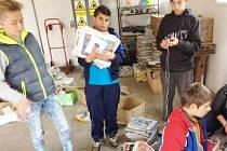 Nasbíraný papír z dětského domova pomůže postiženým