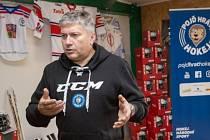 Předseda klubu Radek Chlada (na snímku) v rozhovoru ocenil i přínos akce Pojď hrát hokej.