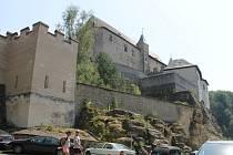 Nedobytný hrad Kost.