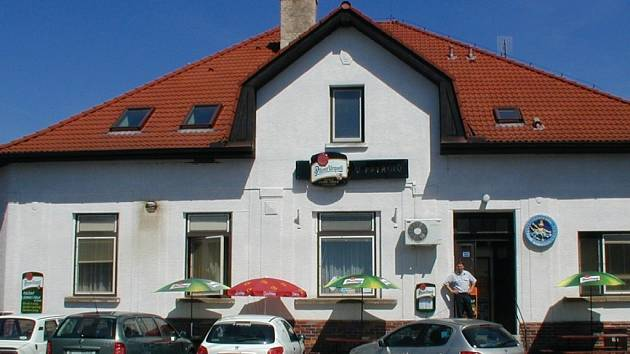 Konecchlumská restaurace U Patřínů.