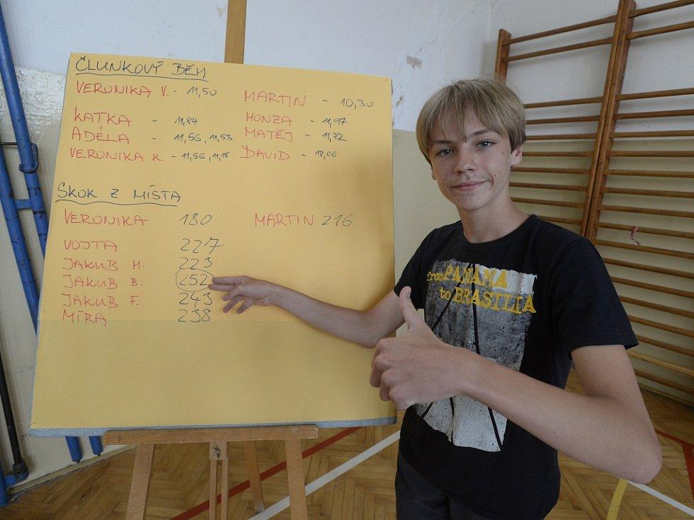 Rekordman Jakub Bílek.