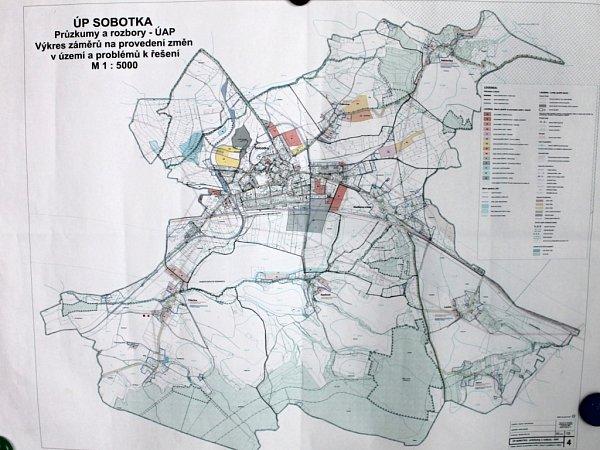 Územní plán Sobotky.