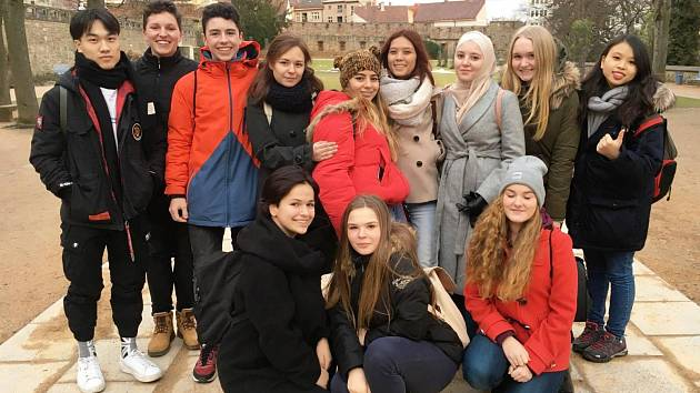 Zahraniční studenti na MOA v Jičíně