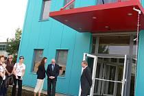 Z otevření nového administrativního centra v Dělnické ulici.