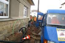 Oprava jičínské Šturmovy ulice.