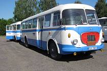 Na retro jízdy vyjedou historické autobusy.