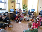 Žáci Základní školy Nemyčeves.