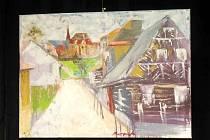 Novopacko malovalo 21 tvůrců. Obrazy jsou k vidění v malém sále MKS.