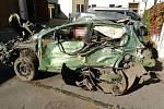 Holovousy - dopravní nehoda s tragickým koncem. Jeden ze spolujezdců zemřel v nemocnici.