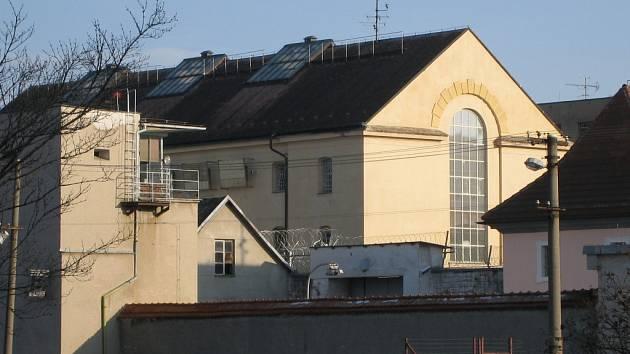 Areál valdické věznice.