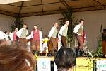 Z bělohradského folklorního festivalu Slavnosti písní a tanců Pod Zvičinou.